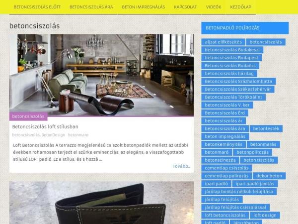 betoncsiszolas.org